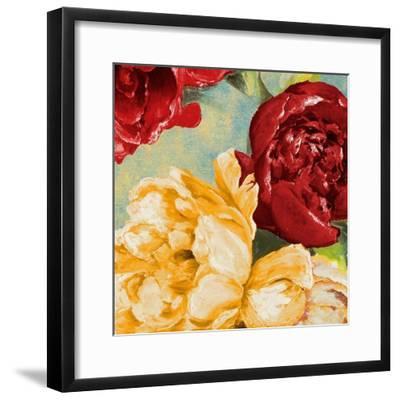 Red Modern Romance IV-Patricia Pinto-Framed Art Print