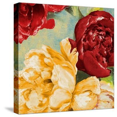 Red Modern Romance IV-Patricia Pinto-Stretched Canvas Print