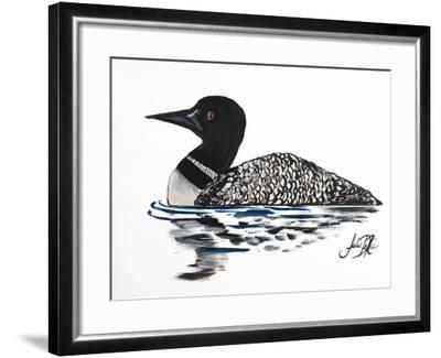 A Day Beside the Lake I-Julie DeRice-Framed Art Print