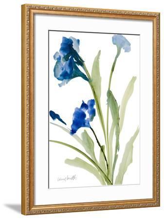 Teal Belles I-Lanie Loreth-Framed Premium Giclee Print