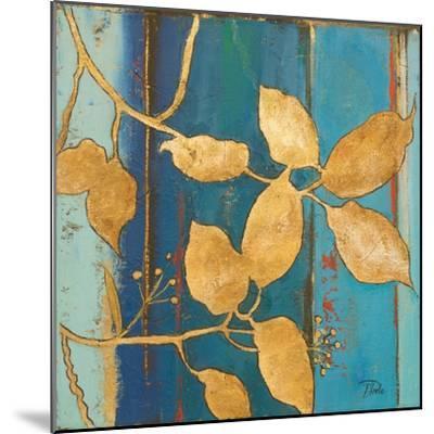 Golden Blue II-Patricia Pinto-Mounted Art Print