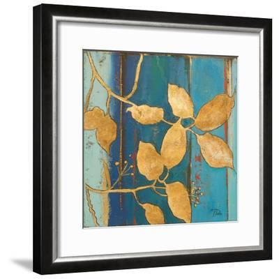 Golden Blue II-Patricia Pinto-Framed Art Print