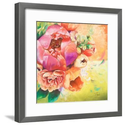 Beautiful Bouquet of Peonies I-Patricia Pinto-Framed Art Print