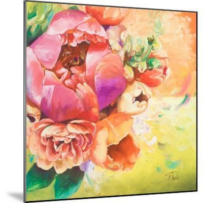 Beautiful Bouquet of Peonies I-Patricia Pinto-Mounted Art Print