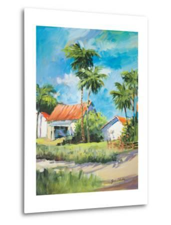 House on the Beach-Jane Slivka-Metal Print