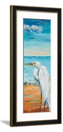 Great Egret Panel II-Patricia Pinto-Framed Premium Giclee Print