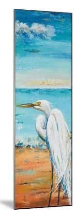 Great Egret Panel II-Patricia Pinto-Mounted Premium Giclee Print