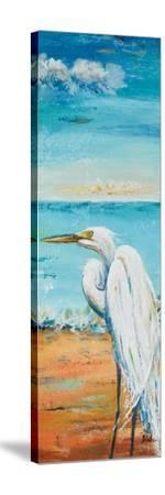 Great Egret Panel II-Patricia Pinto-Stretched Canvas Print