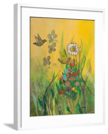 Waking Up with Sunshine-Robin Maria-Framed Art Print