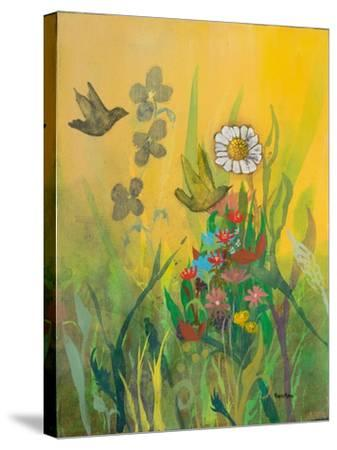 Waking Up with Sunshine-Robin Maria-Stretched Canvas Print