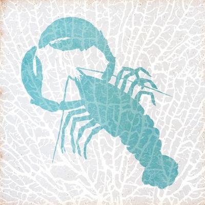 Sealife on Coral VI-Julie DeRice-Framed Premium Giclee Print