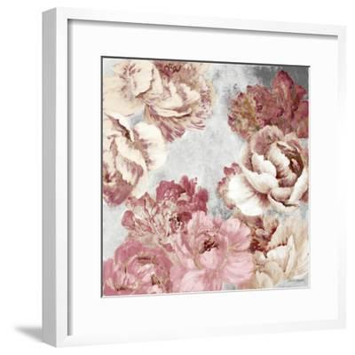 Florals in Pink and Cream-Lanie Loreth-Framed Premium Giclee Print
