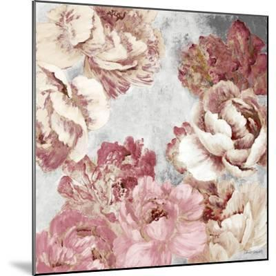 Florals in Pink and Cream-Lanie Loreth-Mounted Premium Giclee Print