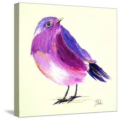 Purple Bird I-Patricia Pinto-Stretched Canvas Print