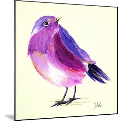 Purple Bird I-Patricia Pinto-Mounted Art Print