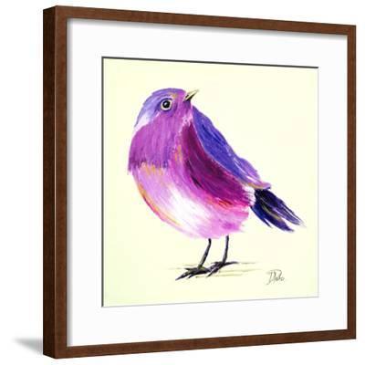 Purple Bird I-Patricia Pinto-Framed Art Print