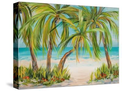 Palm Life-Julie DeRice-Stretched Canvas Print
