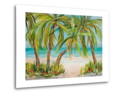 Palm Life-Julie DeRice-Metal Print