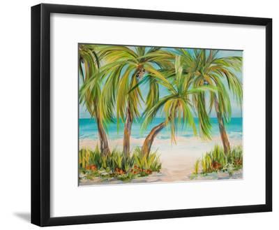 Palm Life-Julie DeRice-Framed Art Print