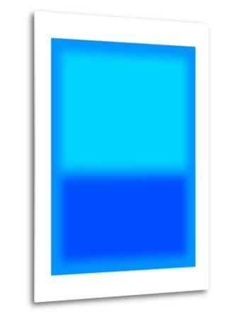 Blue and Aqua-Shelley Lake-Metal Print