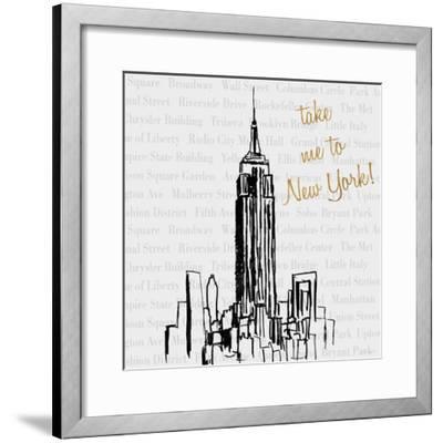 Travel Pack I-Nicholas Biscardi-Framed Premium Giclee Print