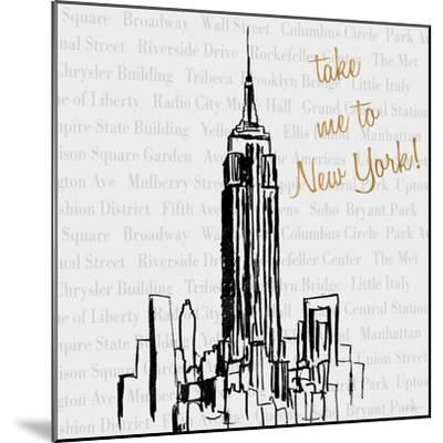 Travel Pack I-Nicholas Biscardi-Mounted Premium Giclee Print