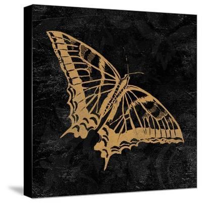 Elegant Paris Gold V-Linda Baliko-Stretched Canvas Print