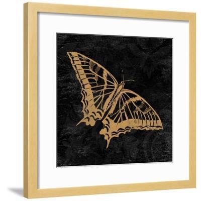 Elegant Paris Gold V-Linda Baliko-Framed Art Print