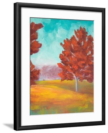 Yellow Pasture-Walt Johnson-Framed Art Print