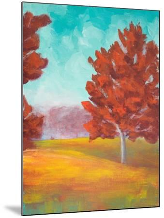 Yellow Pasture-Walt Johnson-Mounted Art Print