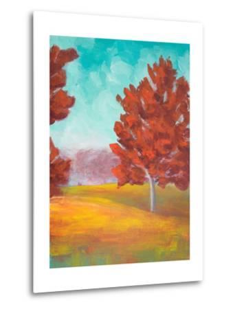 Yellow Pasture-Walt Johnson-Metal Print