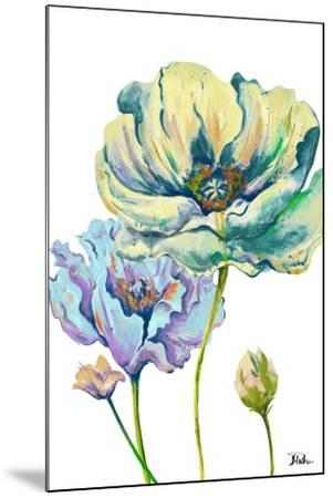 Fresh Colored Poppies II-Patricia Pinto-Mounted Art Print