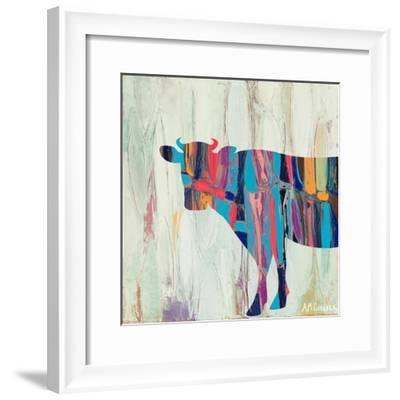 Rhizome Cow-Ann Marie Coolick-Framed Premium Giclee Print