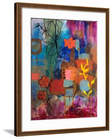 Bloom Where You Are-Robin Maria-Framed Art Print