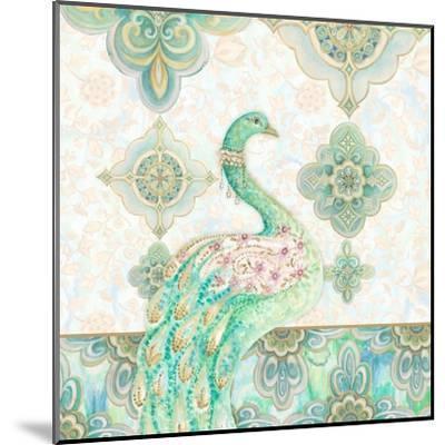 Emerald Peacock I-Janice Gaynor-Mounted Art Print