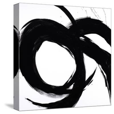 Circular Strokes II-Megan Morris-Stretched Canvas Print