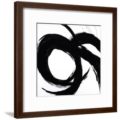 Circular Strokes II-Megan Morris-Framed Art Print