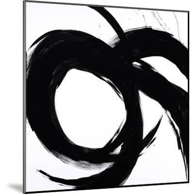 Circular Strokes II-Megan Morris-Mounted Art Print