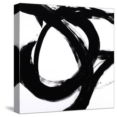 Circular Strokes I-Megan Morris-Stretched Canvas Print