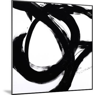 Circular Strokes I-Megan Morris-Mounted Art Print