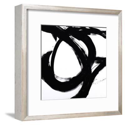 Circular Strokes I-Megan Morris-Framed Art Print