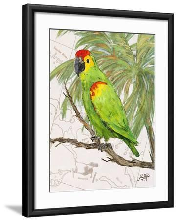 Another Bird in Paradise II-Julie DeRice-Framed Premium Giclee Print