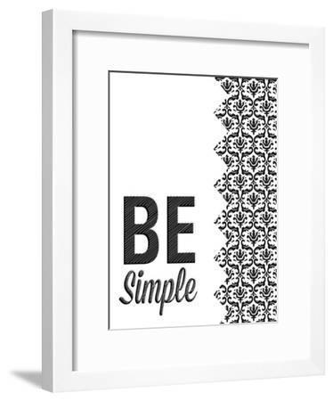 Be Simple Choose Joy I-SD Graphics Studio-Framed Premium Giclee Print