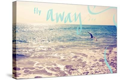 Fly Away-Susan Bryant-Stretched Canvas Print