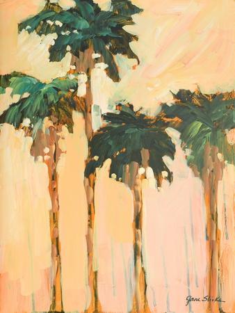 Shady Palms-Jane Slivka-Framed Art Print