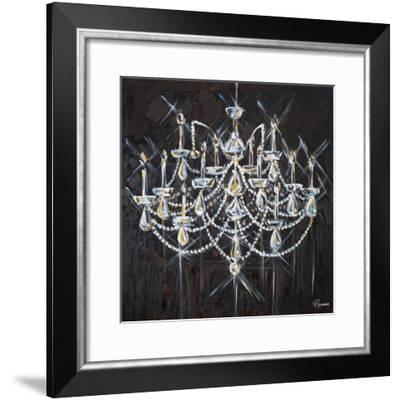 Chandelier II-Heather French-Roussia-Framed Premium Giclee Print