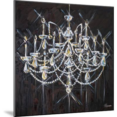 Chandelier II-Heather French-Roussia-Mounted Premium Giclee Print