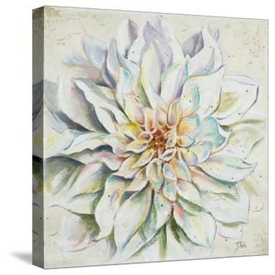 White Dahlias II-Patricia Pinto-Stretched Canvas Print
