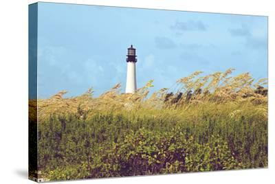 Lighthouse View-Gail Peck-Stretched Canvas Print
