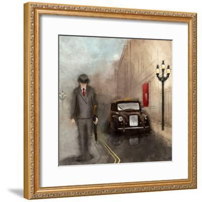 London Streets II-SD Graphics Studio-Framed Art Print